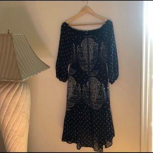 🌼Dress Sale🌼 Blue White printed Maxi dress.